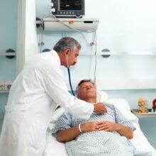 В больнице после инфаркта